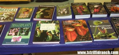 Carnivorous plant books