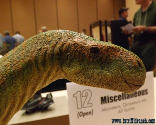 Tenontosaurus extreme closeup