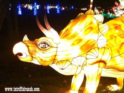 Chinese Lantern Festival - Triceratops
