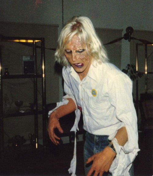 The author as walking dead, 1987