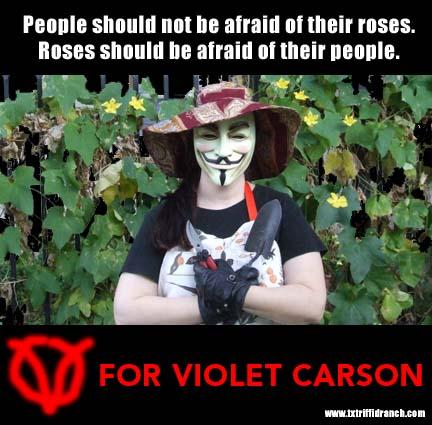 VFor Violet Carson