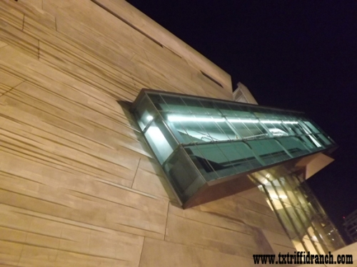 Perot Museum, side view