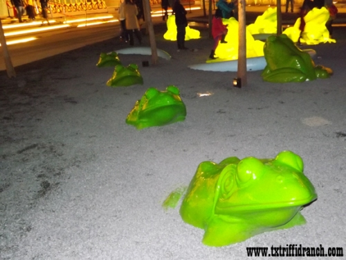 Perot frog line