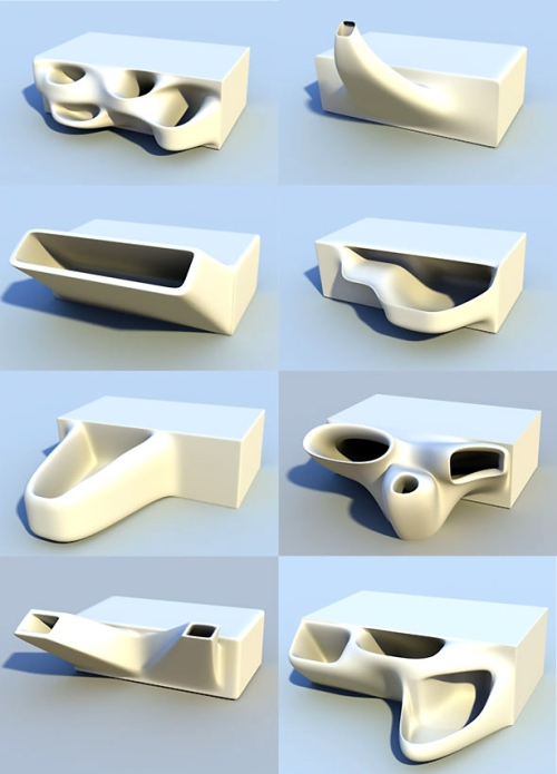 Emerging Objects 3-D planter bricks