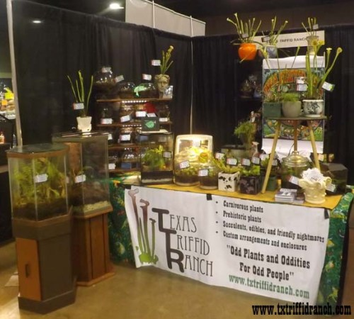 Triffid Ranch booth at the NARBC