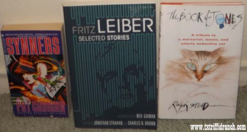 Cadigan/Leiber/Steadman books