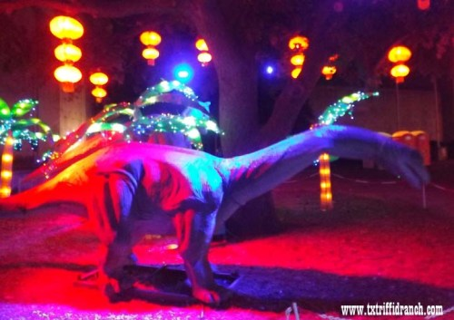 Chinese Lantern Festival dinosaurs