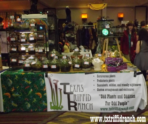 Texas Triffid Ranch booth at All-Con 2014