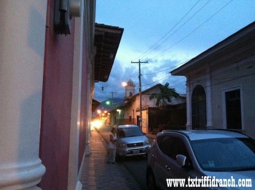The streets of Granada