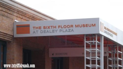 Sixth Floor Museum sign